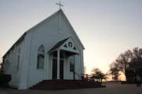 <TypographyTag16>In 1995, it took more than six hours</TypographyTag16> to move Sacred Heart Catholic Church's chapel from its original location on Main Street to its present location, three miles away, at Hickox Road.Staff photo by CHRIS DERRETT - neighborsgo
