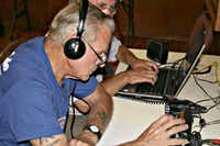 A member of the Irving Amateur Radio Club adjusts his radio during Field Day in June. The annual club event has radio operators trying to send out as many signals as they can.Photo submitted by the IRVING AMATEUR RADIO CLUB