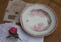 Vintage transferware dishes and any piece of yellowed paper with French handwriting are popular in the U.S.( Audrey Feldman )