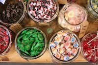 Blooms carries between 400 and 500 different kinds of candy and more than 200 kinds of soda, as well as gifts and pop-culture paraphernalia.