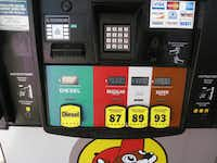 On a recent day, a gallon of regular was selling for $2.99. The store has 60 pumps.