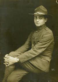 Irving Berlin during World War I.