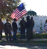 """This group has posted the home addresses of dozens of Muslims and """"sympathizers"""". (Avi Selk/TDMN)"""