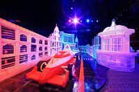 Ice World sculptures at the Venetian Macao hotel will be on display until March 2014.