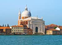 The Church of the Santissimo Redentore -- more commonly known as Il Redentore -- was designed by Andrea Palladio and is regarded as a Renaissance architectural masterpiece. It was built on Giudecca in the 16th century to thank God for delivering Venice from the plague.