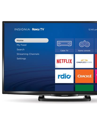 Insignia Roku TV brings streaming video to your living room