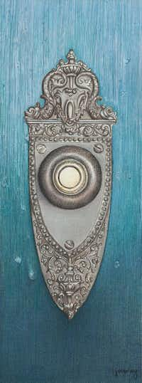 """""""Point of Entry"""" by Irma MurrayColored Pencil Society of America"""