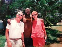 "Gardner and Claudia Smith, retired Tennessee walking horse and Angus breeders, are Irvin Ashford Jr.'s ""white parents."" The wealthy couple, vacationing in 2003 with Ashford in the Bahamas, helped him fend off racism, discover education and find his way to success."