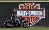 Harley-Davidson's sales to Japan dropped 7 percent in the third quarter of 2014, a significant decline considering the iconic motorcycle manufacturer relies on Japan for a tenth of its revenue.( File  -  The Associated Press )