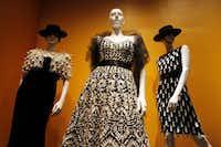 The Oscar de la Renta exhibit is at the Bush Presidential Center through Oct. 5.( Ben Torres  -  Special Contributor )