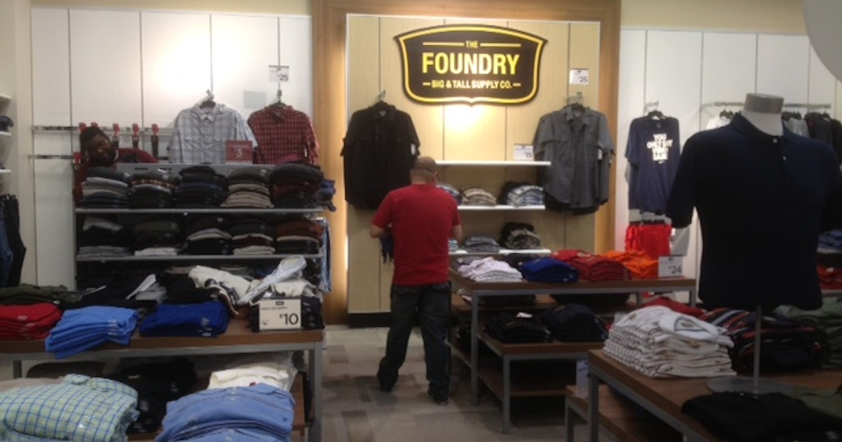 dbc38e609a J.C. Penney closes its 10 Foundry Big   Tall stores