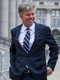 Ron Johnson found himself on the witness stand in a retail love triangle involving Penney, Martha Stewart Living and Macy's.