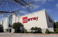 J.C. Penney store in Stonebriar Centre Mall in Frisco. (Vernon Bryant/The Dallas Morning News)