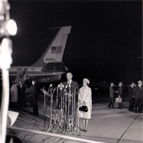 November 22, 1963 - President Lyndon B. Johnsons Remarks