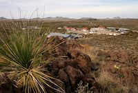 The Sauceda ranch headquarters in Big Bend Ranch State Park.