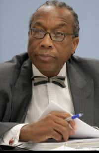 John Wiley Price, Dallas County Commissioner for District 3.