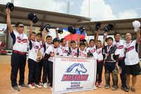 Hats off to the Philippine Razcals, who made it to this month's International Mustang League World Series in Burleson.(Jarvis Jacobs)