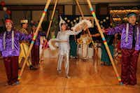 A traditional Filipino dance performance at the 2013 Philippine Republic Day Gala in Dallas.( Jarvis Jacobs )