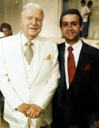 Jeffress  (right) grew up attending First Baptist Dallas and learning from famed pastor W.A. Criswell. (Robert Jeffress)