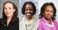 Dallas ISD trustees Elizabeth Jones, Bernadette Nutall and Joyce Foreman have filed the lawsuit.