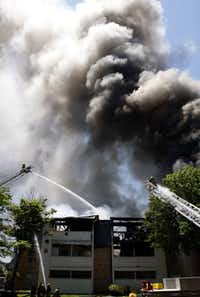 A fire at the complex in July 2009 destroyed 24 units in one building.