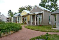 Fredericksburg Herb Farm in the Texas Hill Country is an idyllic place for reflection. The resort features a spa, gift shops, gardens and restaurant.( Kathy Chin Leong  -  Special Contributor )