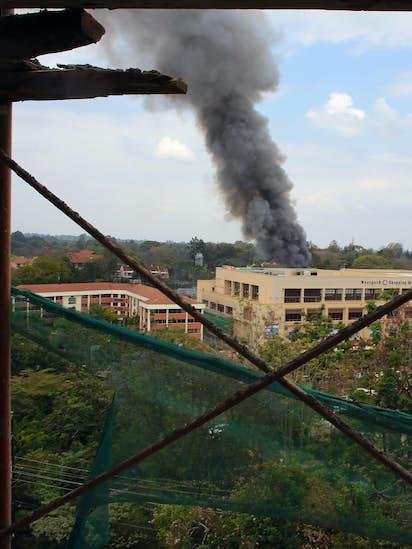 753c255095bef 4 blasts at Kenya mall as 2 terrorists killed | News | Dallas News
