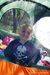 The Texas Parks & Wildlife will teach you and your family how to set up a tent and provide all but the food and sleeping bags at their family camping workshops.