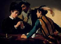 The Cardsharps by Caravaggio at the Kimbell Art MuseumKimbell Art Museum