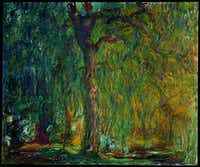Weeping Willow by Claude Monet at the Kimbell Art Museum(Kimbell Art Museum - Kimbell Art Museum)