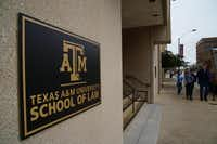 Texas A&M University School of Law in downtown Fort Worth did a little better placing graduates in 2015 as 75 percent have full-time, long-term lawyer positions or other professional jobs, compared to 70 percent in 2014.( Lawrence Jenkins  -  Special Contributor )