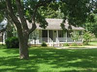 President Johnson hired architect J. Roy White of Austin, Texas in 1964 to reconstruct the birthplace home in Stonewall. They relied on old photographs of the original birthplace house as well as family members' memories to guide the project. The house represents how Lyndon Johnson wanted us to see his birthplace. Lyndon Johnson's birthplace has the distinction of being the only presidential birthplace reconstructed, refurbished, and interpreted by an incumbent President.