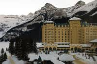Warm up after a day on the slopes at the famed Fairmont Chateau Lake Louise near Lake Louise Ski Resort.( Dan Leeth  -  Dan Leeth/Special Contributor )
