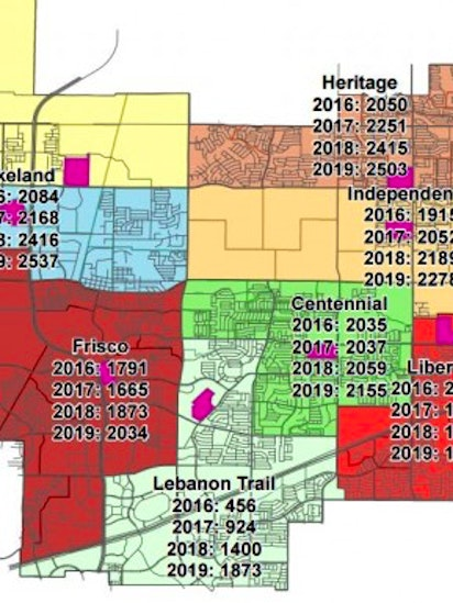 Frisco ISD adjusts proposed attendance zone maps | Frisco | Dallas on