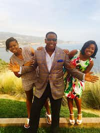 Plano Mayor Harry LaRosiliere enjoys a recent spring break with daughters Maya (left) and Brianna. (Courtesy Harry LaRosiliere)