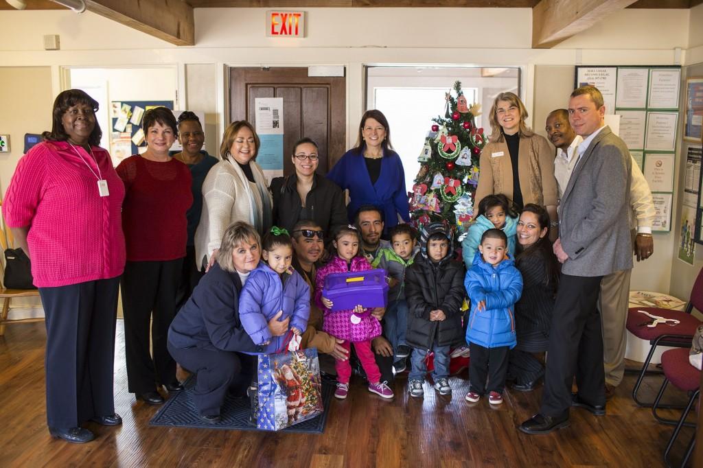 Irving-based Lehigh Hanson donates coats | Irving | Dallas News