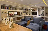 Nooks, books  and arresting art fill public areas on Viking Star. Many of the river guests have a graduate degree, according to the cruise line.(Viking Cruises)