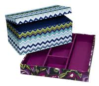 Card box (online only), $11.99; organizer tray, $9.99