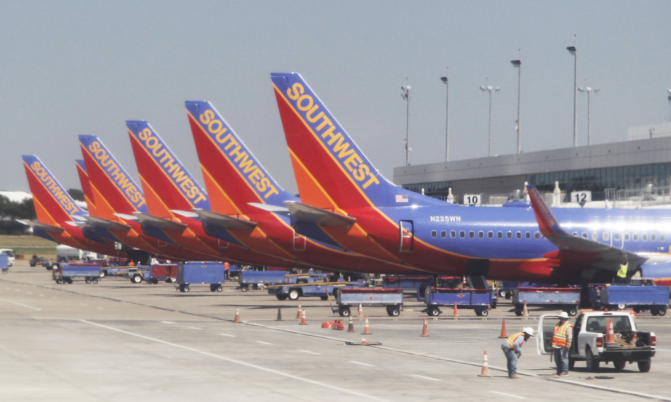 capacity at dallas love field will increase 151 percent by mid