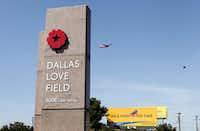 Dallas Love Field in 1956
