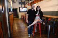Greenville Avenue Pizza Company owner Sammy Mandell, and his wife Molly, recently renovated their restaurant.(Rose Baca - neighborsgo staff photographer)