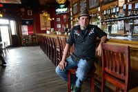 Simon McDonald owns the Libertine Bar on Lower Greenville. McDonald is among a handful of business owners still standing to witness the area's renaissance after street construction ended in 2011.(Rose Baca - neighborsgo staff photographer)