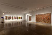 Beyond Abstraction, installation view Artists Present: David McCullough, Michael Tichansky and Michael Osbaldeston 2013