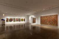 Beyond Abstraction, installation view Artists Present: David McCullough, Michael Tichansky and Michael Osbaldeston 2013