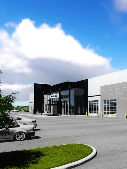 Mercedes Parts Center >> Mercedes Benz To Build Parts Center And Training Facility In