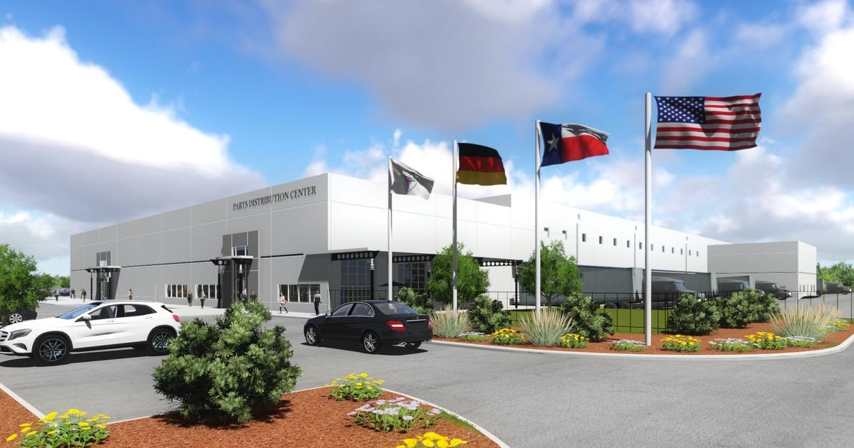 Mercedes benz to build parts center and training facility for Mercedes benz training center