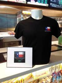 LOOK Cinema is selling T-shirts and stickers showing off its fight with AMC