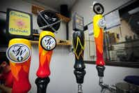 FireWheel Brewing Company serves the Texas Pale Ale, Special #1, Midnight Ninja and the Photon during tours.
