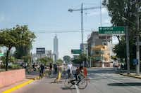 Every Sunday, Guadalajara closes down many sections of road for bikers from 8 a.m. to -2 p.m. (Meghan Dhaliwal/The Washington Post)