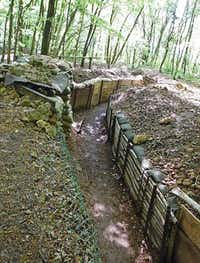 A portion of the trenches near the St. Mihiel Battlefield have been preserved, allowing visitors to step into the trenches that so defined combat of World War I.( Diana Lambdin Meyer )